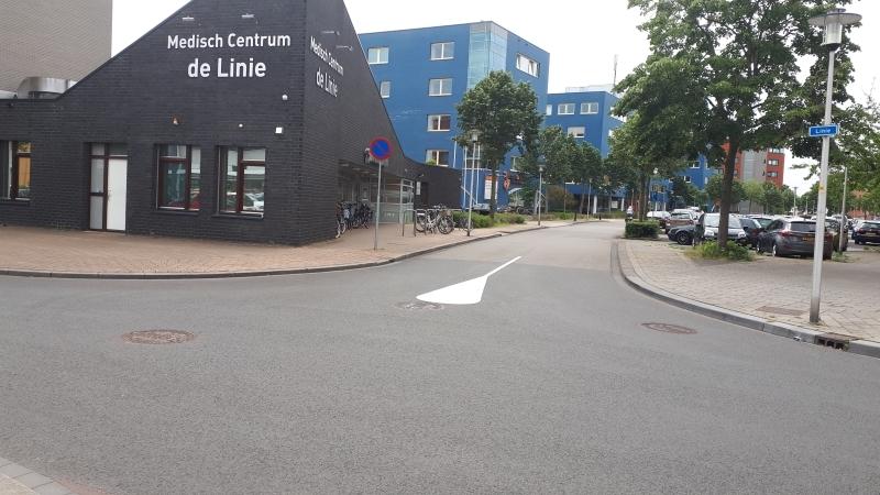 De Ontvangst bij Medisch centrum De Linie